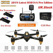 Hubsan H501S Pro X4 Drone FPV RC Quadcopter W/ 1080P Brushless GPS RTH Follow Me