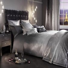 Kylie Minogue OMBRE Slate Grey Silver Bedding-Duvet Cushions Throw Full King Set