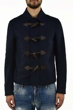 Dsquared2 Men's Coat Frog - Assorted Sizes - Blue - Made in Italy