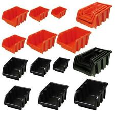 Open Storage Box Crate Stack Boxes sort Sight Bins
