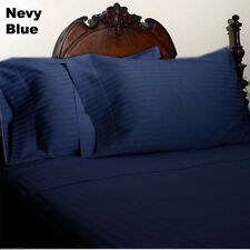 New Collection Egyptian Cotton Duvet Collection Select Size & Item-Navy Blue