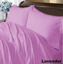 New Collection 1000TC Egyptian Cotton Duvet Collection Select Size&Item-Lavender