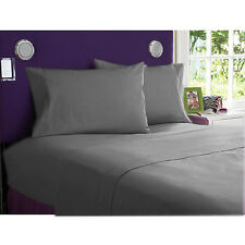 New Collection 1000TC Egyptian Cotton Duvet Collection Select Size & Item-Gray