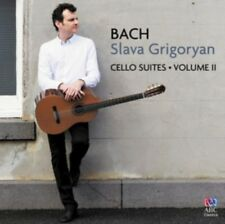 GRIGORYAN SLAVA - Bach Cello Suites vol. II NUOVO CD