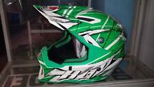 agv ax 8 evo scratch casco cross enduro motard quad trial grafica verde bianco