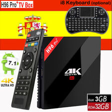 3GB 32GB H96 Pro PLUS Octa Core Android 7.1 Smart TV Box Amlogic S912 4K HD DDR3