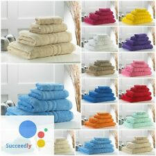 Bale Towel Set (8 Piece) 100%Cotton Supreme Quality Face,Hand & Bath Towels Sets