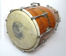 Dholak Indien Tambour accordable robuste Nuts and boulons Bina Inde dhol