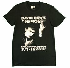 David Bowie Heroes Unisex Official T-Shirt Brand New Various Sizes Earls Court