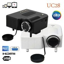 Excelvan Mini LCD PROYECTOR HDMI VGA USB Multimedia Home Movie Cinema Projector