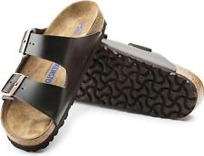 Birkenstock ARIZONA 551031 Reg Unisex Mens Womens Buckle Mules Sandals Brown