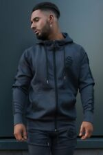 Sinners Attire | Poly Track Hoodie | Charcoal