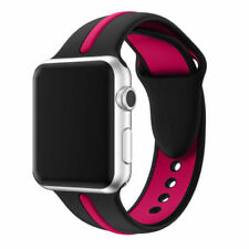 For Apple Watch Series 1 / 2 / 3 Band Strap Bracelet Replacement New Black-ROSE