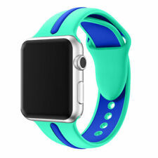 For Apple Watch Series 1 / 2 / 3 Band Strap Bracelet Replacement New Green-blue