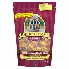 Bakery On Maine Nutty  Cranberry Maple Granola 340g