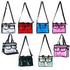 Cosmetic Makeup toiletry wash bag Travel handbag PVC transparent various colours