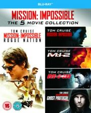 MISSION IMPOSSIBLE 1/2/3 / GHOST PROTOCOL / ROGUE NATION BLU-RAY NUOVO Blu-Ray
