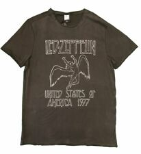 Led Zeppelin 1977 US Tour Amplified Unisex Official Tee Shirt Brand New Various