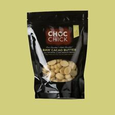 CHOC Chick Organic Raw Cacao Butter 100g