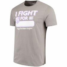 '47 Vegas Golden Knights Gray Hockey Fights Cancer Flanker T-Shirt