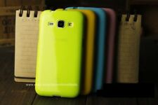 Good Quality Shiny Silicon Back Cover Case For Samsung Galaxy Core i8260 / i8262