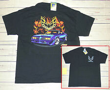 T-shirt Pontiac con cartellino ORIGINALE GM  nera XL