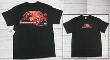 T-shirt CHEVROLET CORVETTE con cartellino ORIGINALE GM nera L-XL