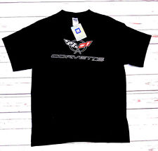 T-shirt CHEVROLET CORVETTE con cartellino ORIGINALE GM nera L