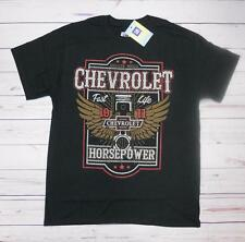 T-shirt CHEVROLET horsepower con cartellino ORIGINALE GM nera M-L