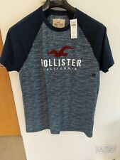 New Hollister by Abercrombie & Fitch Mens Colorblock GRAPHIC Tee T shirt(RPP£22)