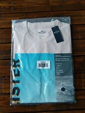 New Hollister by Abercrombie & Fitch Mens Crew Graphic TeeT shirt