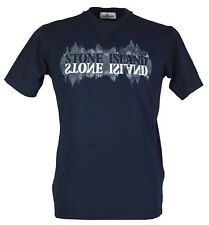 Stone Island Junior Boy`s T-Shirt - 681621058 -Navy