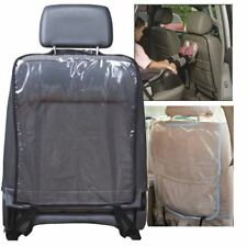 Cover Seat Back Protector Kick Mats Plastic Supports Mat Mud Clean Automobile