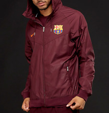 NIKE FC BARCELONA 2017/18 WINDRUNNER FULL-ZIP with ZIP POCKETS JACKET  Size M