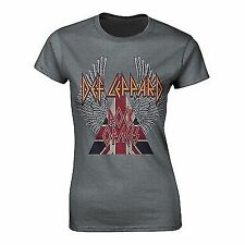 New Official DEF LEPPARD - ROCK OF AGES Girlie T-Shirt