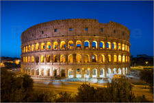Poster Colosseum in Rome at night - Jan Christopher Becke