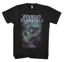 NUOVO UFFICIALE AVENGED SEVENFOLD - Space Face T-shirt