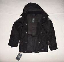 Mens Abercrombie & Fitch All-Weather Half Fleece Hoodie Coat Jacket Size M, XL,
