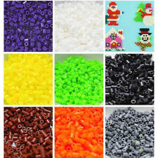 1000Pc 2.6mm Plastic Hama Perler Beads For Child Gift Great Fun Educational Toy