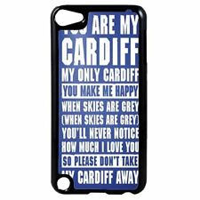 Cardiff FC Football Chant Song Plastic Case Cover for iPod 4th 5th 6th Gen D16