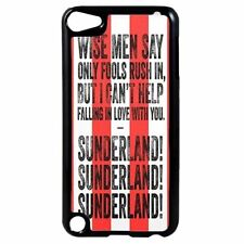 Sunderland FC Football Chant Song Plastic Case for iPod 4th 5th 6th Gen D11