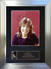 DAVID CASSIDY Signed Autograph Mounted Photo Repro A4 Print 700