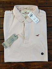 New Hollister by Abercrombie & Fitch Mens Stretch Icon Polo RPP£25!