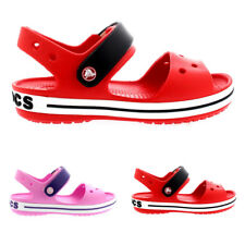 Unisex Kids Crocs Crocband Sandal Casual Slip On Shoes Beach Sandals All Sizes