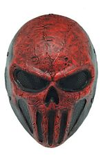 Airsoft CS Paintball Full Face Wire Mesh Protection COOL Skull Mask Halloween