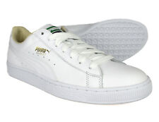 Puma Mens White Basket Classic LFS Trainers 354367-17