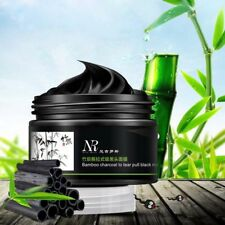 Black Mud Bamboo Charcoal Face Mask Blackhead Remover Skin Deep Clean Mask QV
