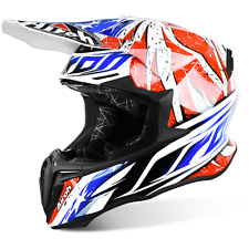 CASCO CROSS AIROH TWIST MIX AZUL / ROJO / BLANCO / NEGRO TAMAÑOS XS < XXL