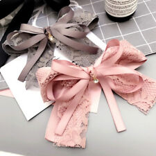 SWEET WOMEN LACE FLOWER BOWKNOT HAIRPIN HAIR CLIP BARRETTE HAIR ACCESSORIES NICE