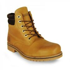 BOTIN CORDON COLLARIN MOSTAZA MARRON